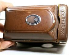 Leather Camera Case for ROLLEI ROLLEIFLEX 2.8 TLR  vintage genuine