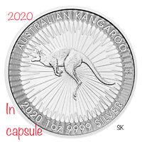 2020 Australian Kangaroo 1 oz Silver Coin