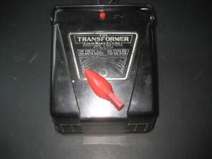 VINTAGE MARX 150 WATT TRANSFORMER # 1859-TESTED C-6
