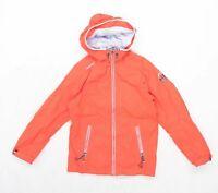 Tribord Boys Orange Waterproof Coat Age 10 Years