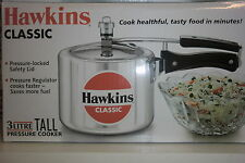 HAWKINS CLASSIC RANGE -PRESSURE COOKERS  3LITRES  - TOP QUALITY