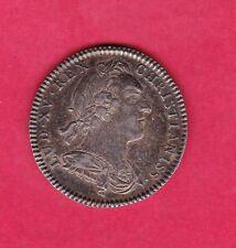 (J.31) JETON LOUIS XV TRESOR ROYAL 1757 (C3) ARGENT