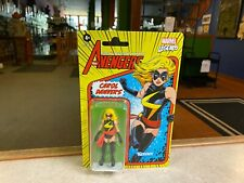 "Marvel Legends 4"" Kenner Retro Style 3.75 Inch Figure NIP - 2021 CAROL DANVERS"