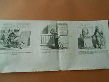 Caricature 1867 - Offenbach La Grande Duchesse de Gérolstein