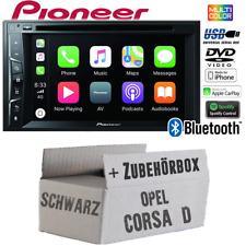 Pioneer Radio für Opel Corsa D Bluetooth Android Apple CarPlay Spotify Einbauset