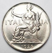 ITALIE : SUPERBE 1 LIRE 1928
