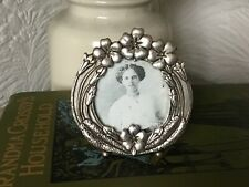 Elegant Art Nouveau Style Silver Plate Picture Frame-MASJ 1987 #4847