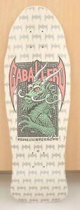 Steve Caballero Powell Peralta  White n' Pink Skateboard