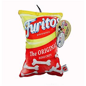 """CHIPS FUN FOOD FURITOS 8"""" PLUSH TOY"""