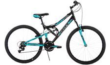 "Women's Mountain Bike 26"" Ladies  Bicycle Full Suspension Aluminum Rims Shimano"
