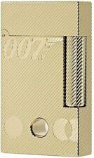 S.T. Dupont James Bond 007 Gold Plated, Ligne 2 Lighter 016318 (16318), NIB