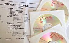 RADIO SHOW: LEEZA GIBBONS 7/28/01 U2, TRAIN, DIDO, JOHN MELLENCAMP, 3 DOORS DOWN