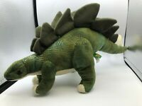 Wild Republic Dinosauria Dinosaur Stegosaurus Plush Kids Soft Stuffed Toy Animal