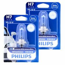 2x H7 Philips WhiteVision Intensive Xenon Effekt 4300K 12972WHV Halogen Blister