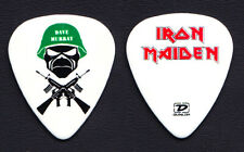 Iron Maiden Dave Murray Trooper Murray White Guitar Pick #2 - 2006-2007 Tour