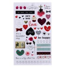 Creative Cartoon DIY Calendar Diary Book Sticker Scrapbook Decoration Planner