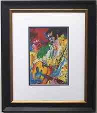 "LeRoy Neiman ""ELVIS PRESLEY II"" NEWLY CUSTOM FRAMED Hand Signed Litho ART PRINT"