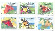 Alderney-Tiger Moths mnh set- Insects