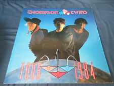 Thompson Twins 1984 Japan Tour Book Concert Program Synth Tom Bailey Into Gap