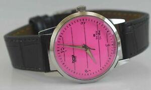 Vintage HMT Janata 17Jewels Winding Wrist Watch For Men's Wear D-57-8
