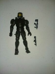 Spartan Mark IV Black Halo Series 8 Loose And Complete 2010 McFarlane Toys
