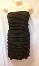 SPEECHLESS TIERED STRAPLESS BODY COM BLACK DRESS SIZE 2X NWT
