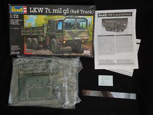 LKW 7t. mil gl (6x6 truck) 1/72 Revell 03179