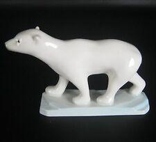 AELTESTE Volkstedt Porcelaine Figurine ours polaire Kati colère projet porcelain figurine