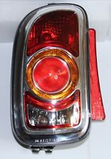 GENUINE OEM MINI CLUBMAN R55 ORANGE REAR TAIL LIGHT LAMP LEFT SIDE RHD CARS NEW