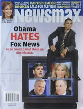 BARACK OBAMA HATES FOX NEWS - TRIED TO SHUT DOWN January 2010 NEWSMAX Magazine