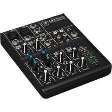 Mackie 402vlz4 4 Channel Compact Analogue Mixer