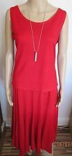 NWT RED SKIRT SUIT SIZE 14
