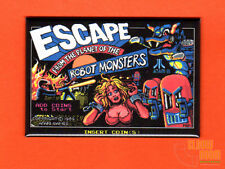 """Escape From the Planet of the Robot Monsters 2x3"""" fridge/locker magnet screen"""