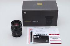 [NEAR MINT] Voigtlander NOKTON 25mm F0.95 Micro Four Thirds Lens from Japan