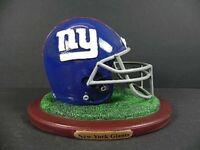 New York Giants Replica Helm auf Base,NFL Football Poly Helmet,NEU,550 gr.