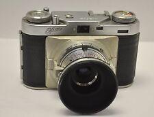 Vintage Made In Germany Wirgin Edixa with pronto Isconar 2.8/43 Lens & Hood