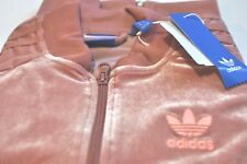 Adidas Originals Womens velvet jacket pink size S