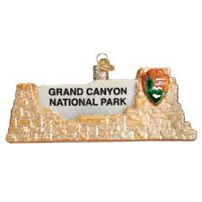 """Grand Canyon National Park"" (36175) Old World Christmas Glass Ornament w/ Box"