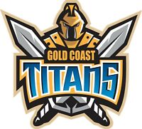 Sticker - NRL Gold Coast Titans (Big)