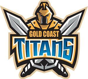 Sticker - NRL Gold Coast Titans (Big)