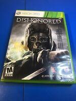 Dishonored (Microsoft Xbox 360, 2012) Cib
