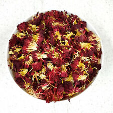 Edible Dried Red Carnation Flowers - Soap Candle Wax Making Herbal Bath Tea Gin