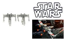 Star Wars Cufflinks Gentleman Jewelry Wedding Novelty Shirt Silver Cuff Links