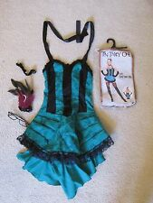 Can Can Girl Hot Topic Ten Thirty T3N Th1rty One Halloween Costume Size Small