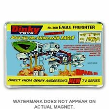 DINKY TOYS 360- SPACE 1999- EAGLE FREIGHTER ADVERT JUMBO FRIDGE / LOCKER MAGNET