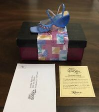 Karner Blue Just the Right Shoe Raine 25183 With Coasigned By Artist 2002 #2