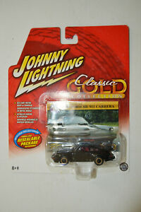 Johnny Lightning 1986 Porsche 911 Carerra Classic Gold Black Diecast 1:64 NOS