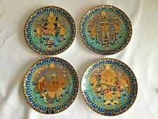 4 Legends of the Nile Egyptian Plates by Royal Worcester - Compton and Woodhouse