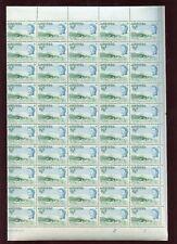 ANTIGUA 1966 NELSONS DOCKYARD 1/2c SHEET of 100 stamps