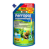 Jbl Ferropol Pack de Recharge 625 ML - Engrais Aquarium Plantes Engrais
